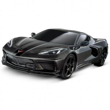1:10 Scale C8 Corvette | Traxxas RC Car - Black