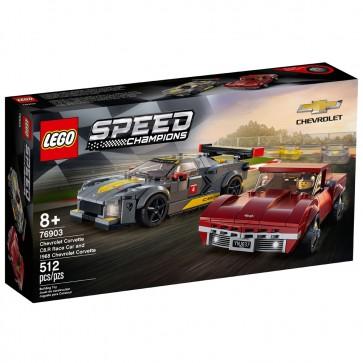 LEGO C8.R Race Car | & 1968 Chevrolet Corvette