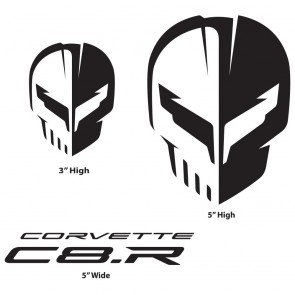 Corvette Racing C8.R | Black Decal Pack