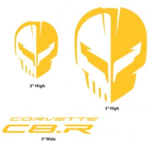 Corvette Racing C8.R | Yellow Decal Pack