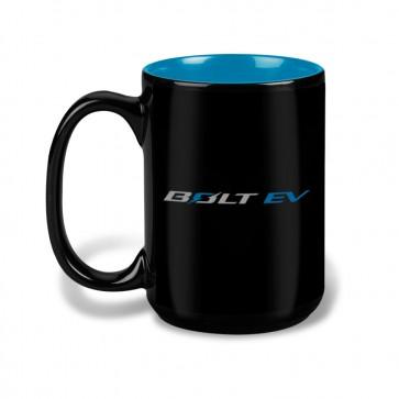 Bolt EV 15 Oz Mug - Black/Aqua