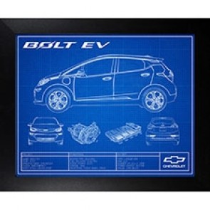 Bolt EV | Framed Blueprint
