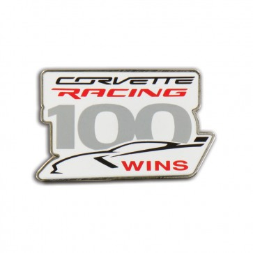 Corvette Racing 100th Win Lapel Pin