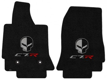 "C7.R ""Jake"" 2 Pc. Ultimat™ Floor Mat Set - Jet (2014 & up)"