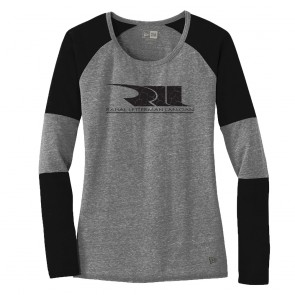 BMW / RLL | New Era® Ladies Tee | Black / Shadow Gray
