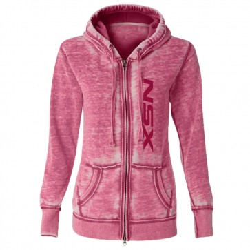Acura NSX Ladies Full-Zip | Hooded Sweatshirt-Wildberry