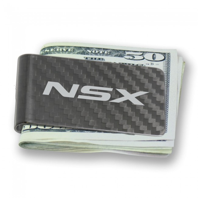 Acura NSX Carbon Fiber Money Clip
