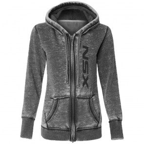 Acura NSX Ladies Full-Zip | Hooded Sweatshirt-Ash Gray