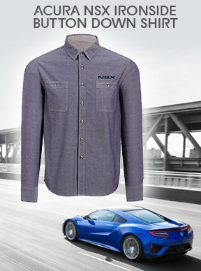 Acura NSX Ironside Button Down Shirt