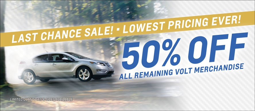 50% Off All Remaining Volt Merchandise