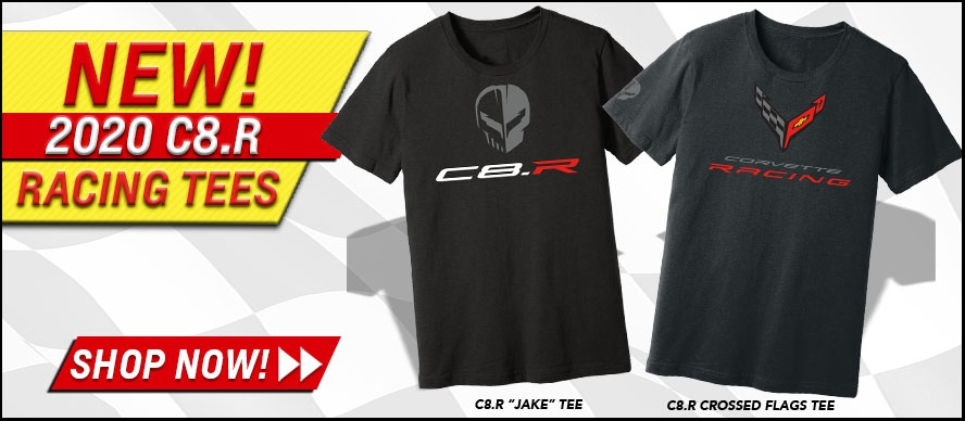 New 2020 C8.R Racing Tees!