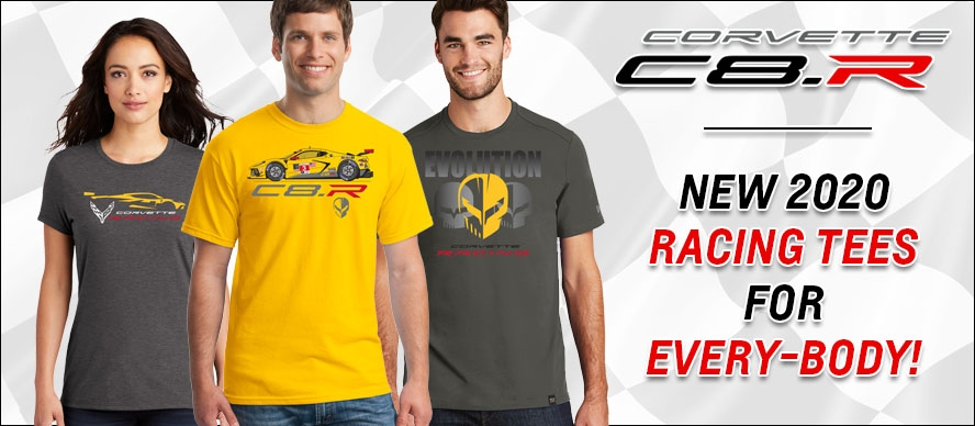 New 2020 Racing Tees For Every-Body!