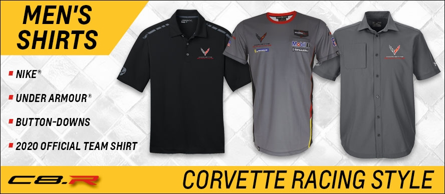 Men's C8.R Shirts - Corvette Racing Style