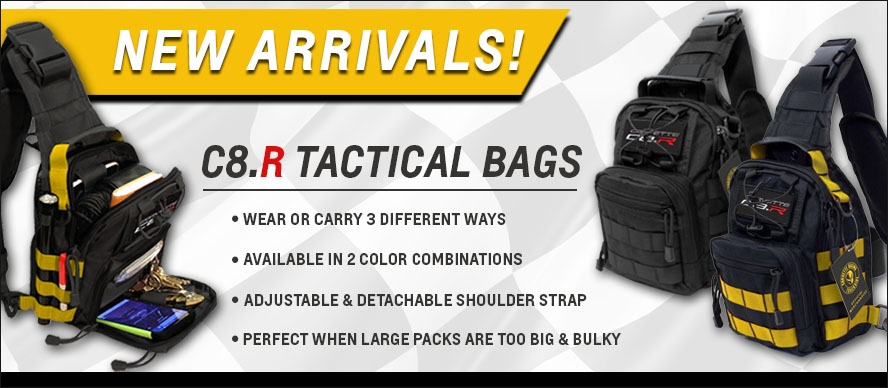 New Arrivals! C8.R Tactical Bags
