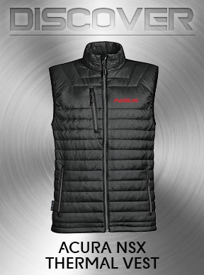 Discover - Acura NSX Thermal Vest